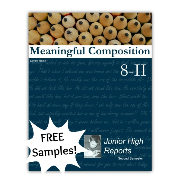 Meaningful Composition 8-II: Junior High Research Reports