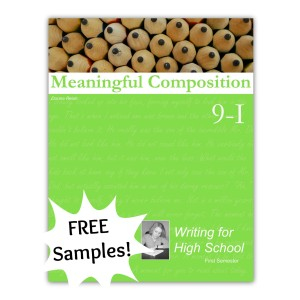 Meaningful Composition 9 I: Writing for High School