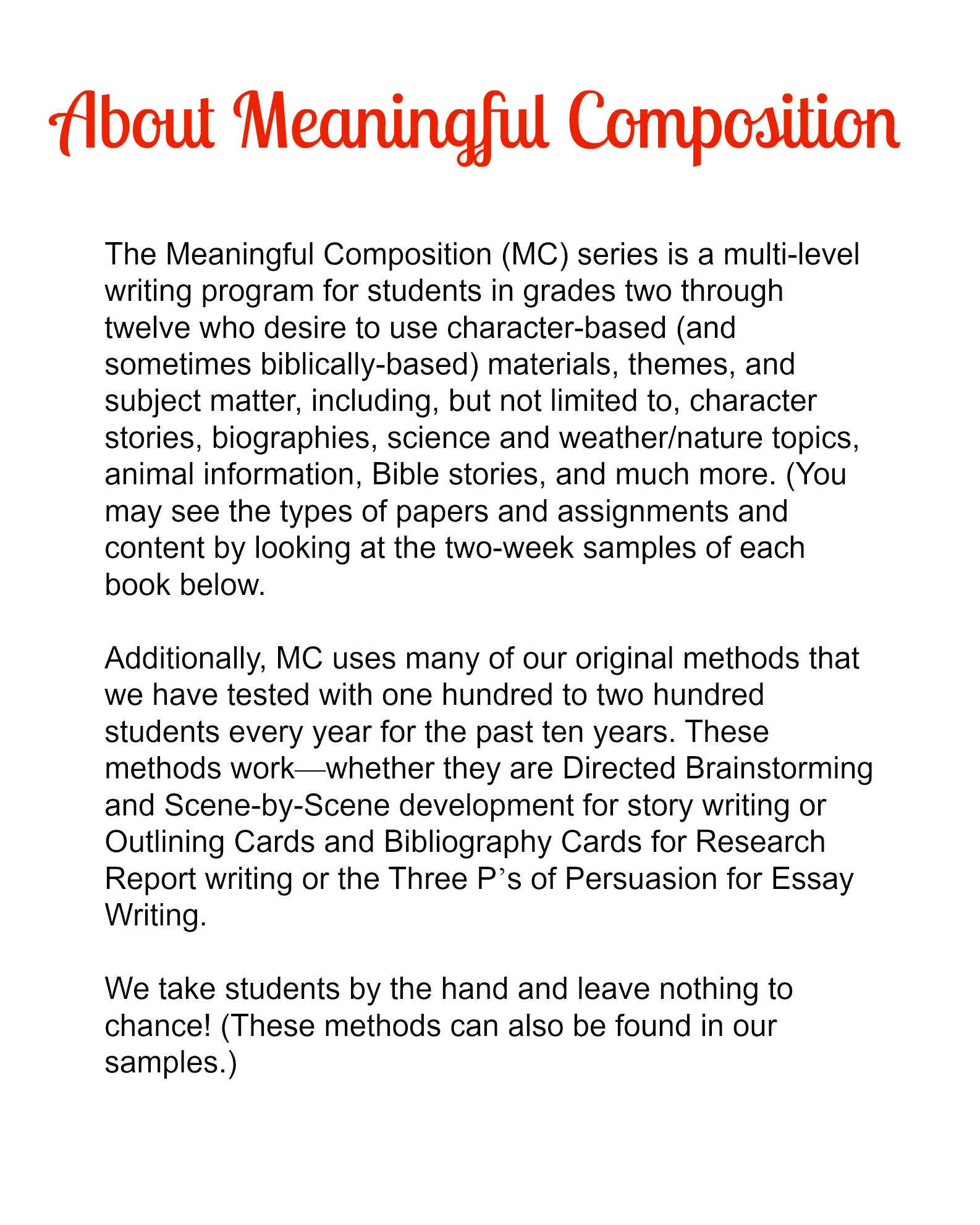 meaningful composition ii put those paragraphs together meaningful composition 4 ii put those paragraphs together