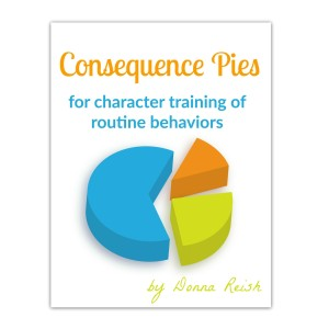 Consequence Pies For Character Training of Routine Behaviors