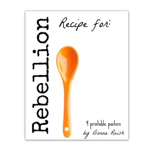 Recipe for Rebellion Poster Pack