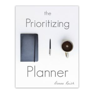 The Prioritizing Planner