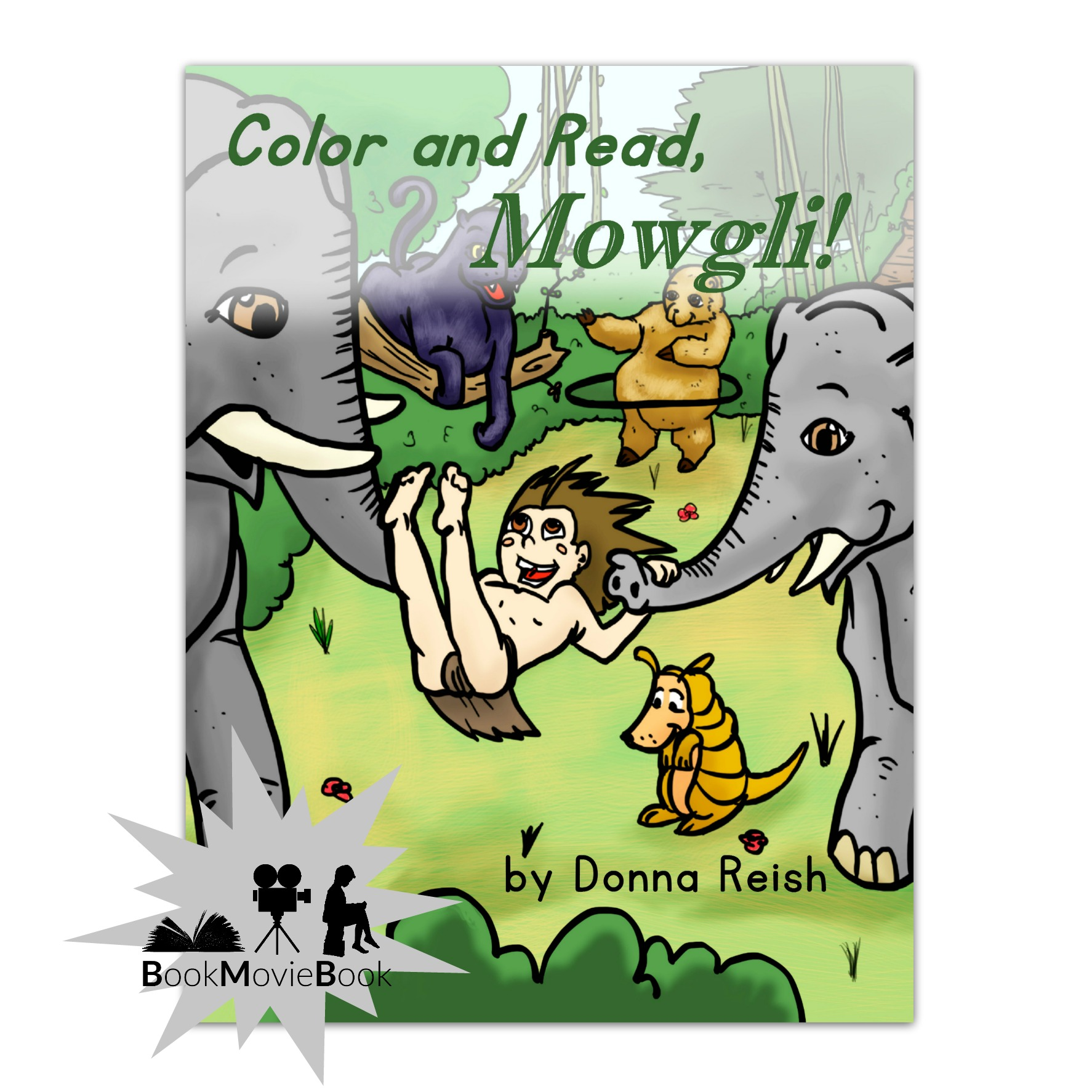 Color and Read, Mowgli!