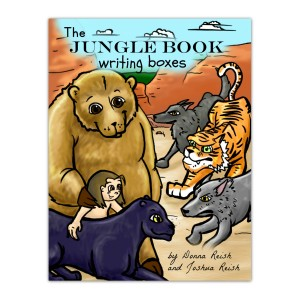 The Jungle Book Writing Boxes-Donna Reish