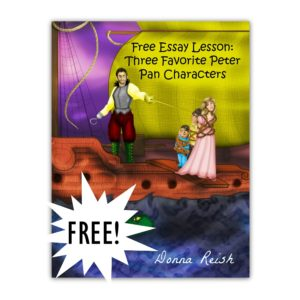 language arts s archives character ink store  essay lesson three favorite peter pan characters