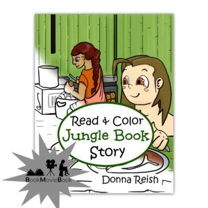Read and Color Jungle Book Story