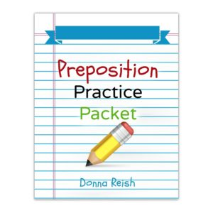 Preposition Practice Packet