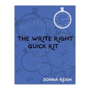 The Write Right Quick Kit
