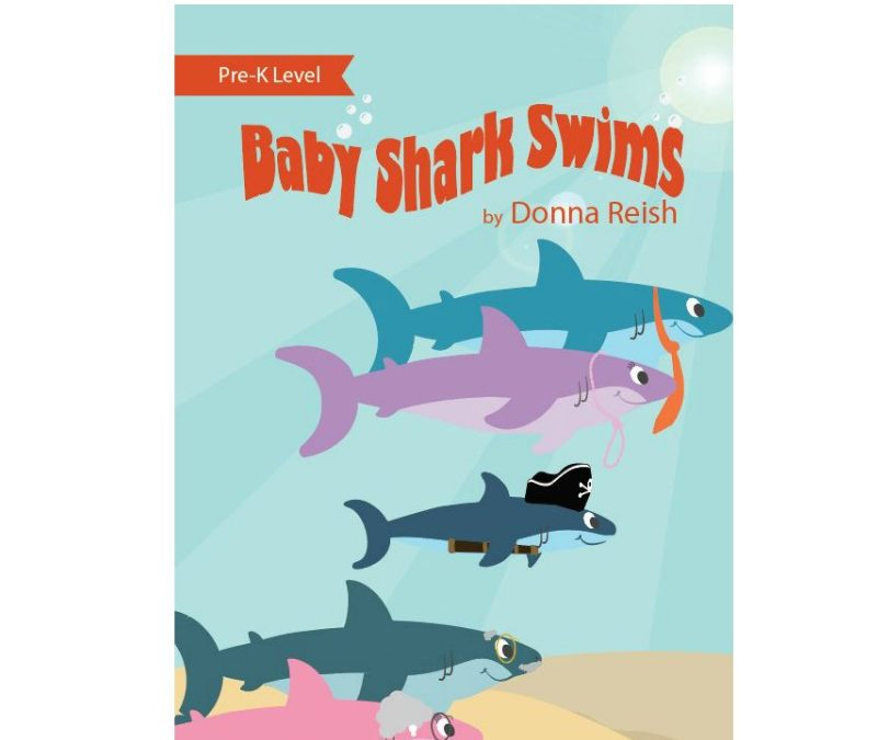 Baby Shark Swims – Pre K Level Reader